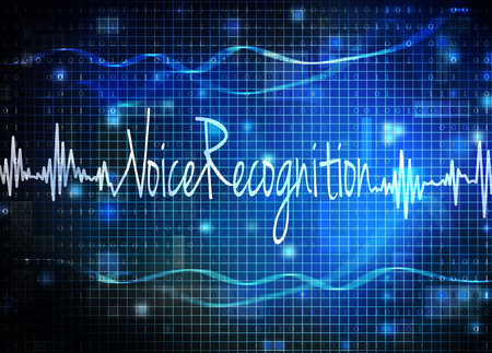 Photo for voice recognition - Royalty Free Image