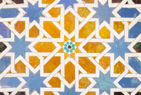 Foto de tile decorations in alhambra - Imagen libre de derechos