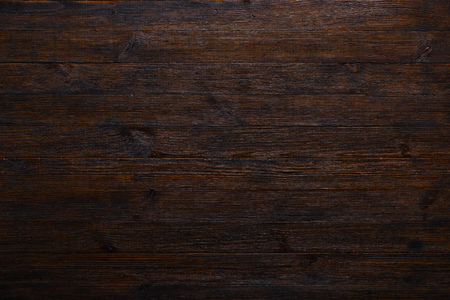 Photo for Dark wood table texture background top view - Royalty Free Image
