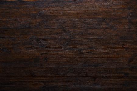 Photo pour Dark wood table texture background top view - image libre de droit