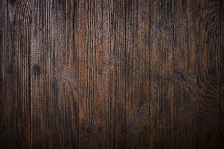Photo pour Dark old wooden table texture background top view - image libre de droit