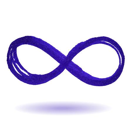 Illustrazione per Infinity symbol - Immagini Royalty Free