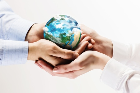 Photo for Let s save our planet earth  Ecology concept   - Royalty Free Image