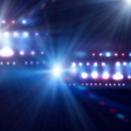 Photo pour Background image of stage in color lights - image libre de droit