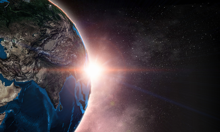 Photo for The Earth from space showing all the beauty. - Royalty Free Image