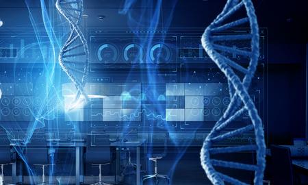 Photo pour Biotechnology background concept - image libre de droit