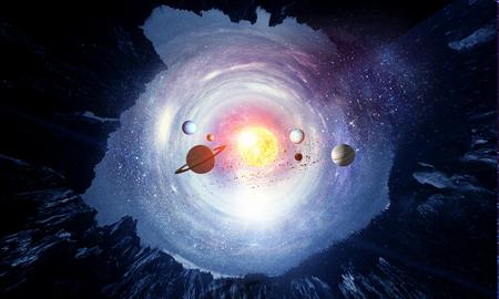 Foto de Space planets and nebula - Imagen libre de derechos