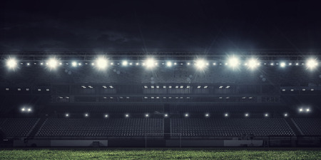 Photo for Sport stadium in lights - Royalty Free Image