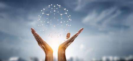 Photo pour Social connection technologies - image libre de droit