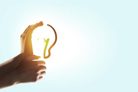 Foto de Concept for idea and energy - Imagen libre de derechos