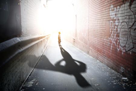 Foto de He will protect this world. Mixed media - Imagen libre de derechos