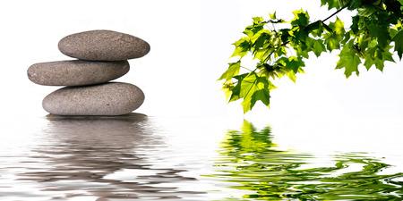 Photo pour zen banner background - image libre de droit