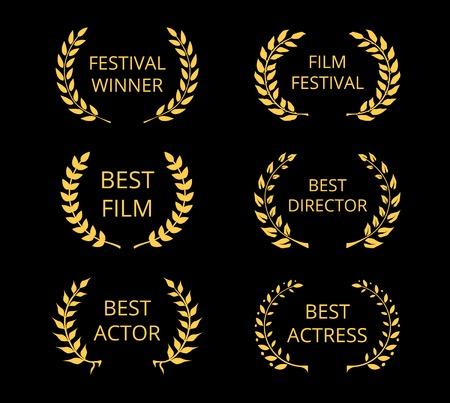 Illustration for Film Awards - Royalty Free Image