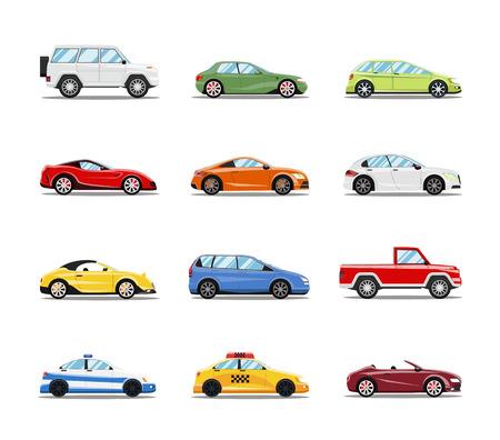 Illustration pour Vector Cars - image libre de droit