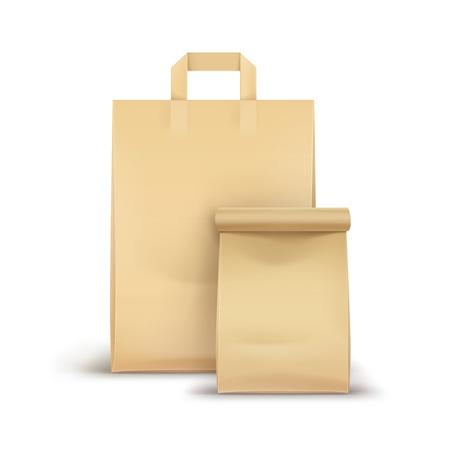 Ilustración de Vector Set of Paper For Sandwich - Imagen libre de derechos