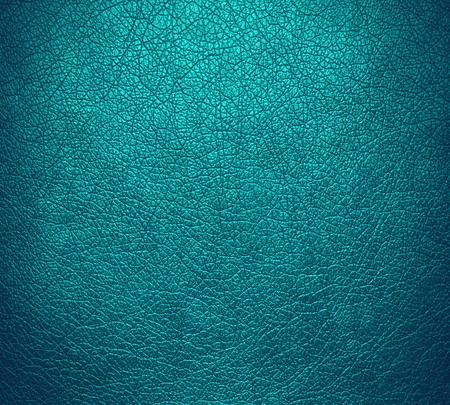 Teal blue leather texture background