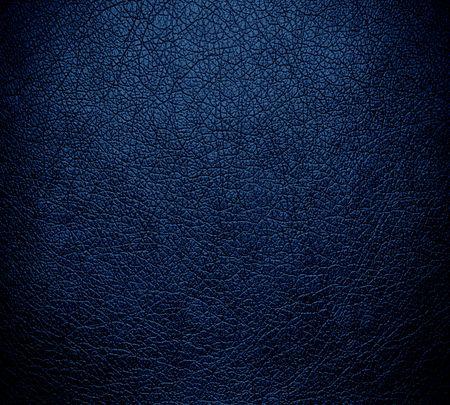 Dark blue leather texture background surface