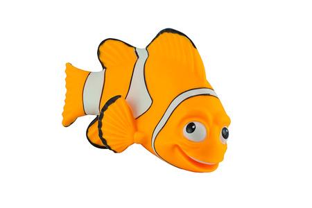 Foto de Bangkok,Thailand - September 29, 2014: Marlin fish toy character from Finding Nemo movie from Disney Pixar animation studio. - Imagen libre de derechos