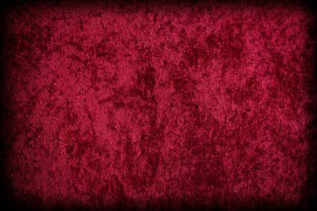 Red Velvet-like Fabric