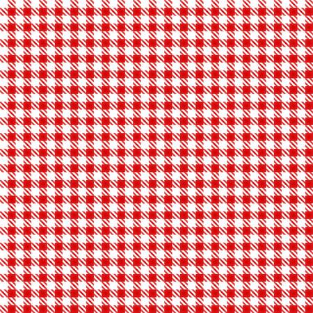 Illustration pour Red Table Cloth Seamless Pattern - image libre de droit