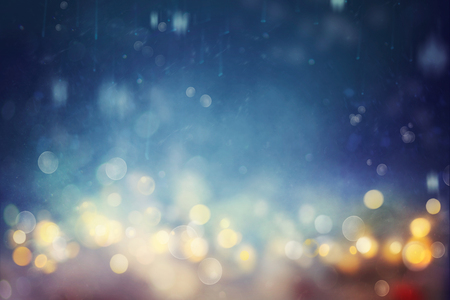 Foto de Bokeh shiny abstract background. - Imagen libre de derechos