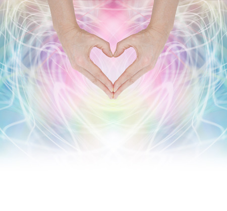 Photo for Heart Healing Energy - Royalty Free Image