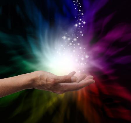 Foto de Magical Healing Energy - Imagen libre de derechos