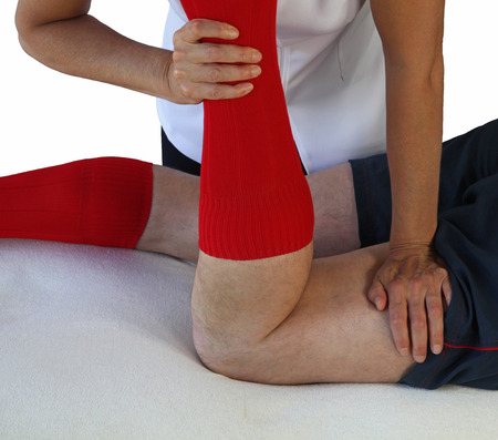 Neuromuscular technique applied to hamstrings