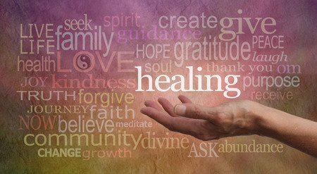 Foto de High Resonance Healing Words  - Imagen libre de derechos