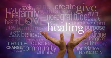 Foto de Healing Words - Imagen libre de derechos