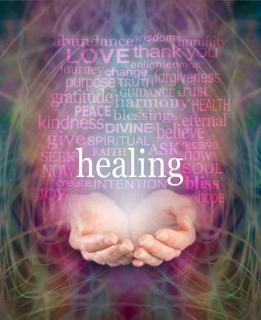Foto de Receiving Healing - Imagen libre de derechos