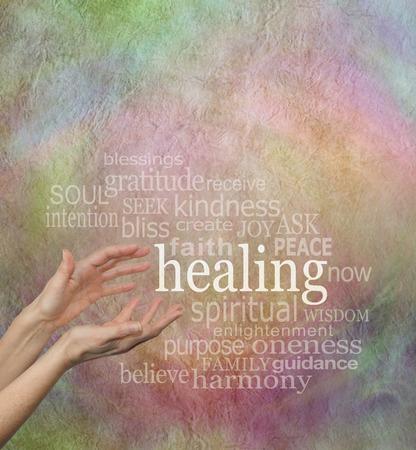 Foto de Beautiful Healing Words - Imagen libre de derechos