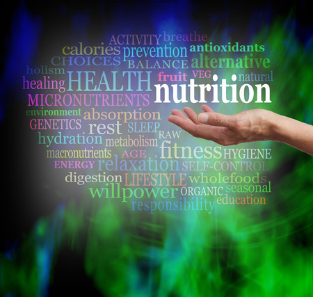 Foto de Nutrition in the Palm of your Hand - Imagen libre de derechos