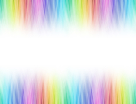 Rainbow blend graduated linear header and footer