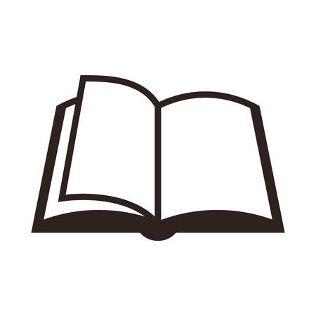 Ilustración de Book icon isolated on white background - Imagen libre de derechos