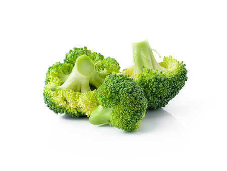 Photo pour Broccoli isolated on white background - image libre de droit