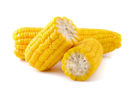 Foto de Corn on a white background - Imagen libre de derechos