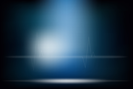 Illustration pour A medical abstract background dark tone & mood design. - image libre de droit