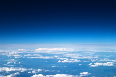 Photo pour Sky and clouds background - image libre de droit
