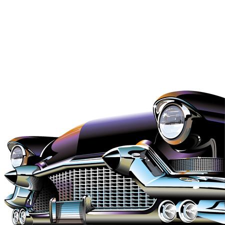 Ilustración de Old Classic Car - Imagen libre de derechos