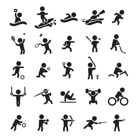 Foto für Sport icons set - Lizenzfreies Bild