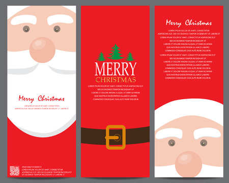 christmas greeting or invitation card. can be use for business shopping card, customer sale and promotion, gift voucher certificate coupon, layout, banner, web design. vector illustration
