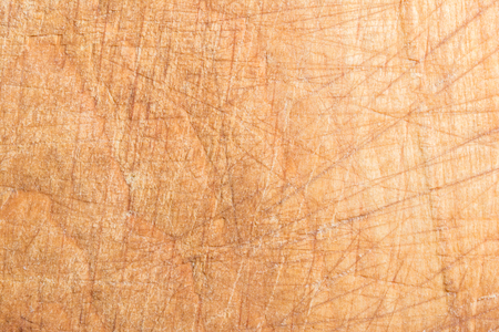 Photo pour wood texture, surface of a cutting board made of beech has many scratches, abstract background - image libre de droit