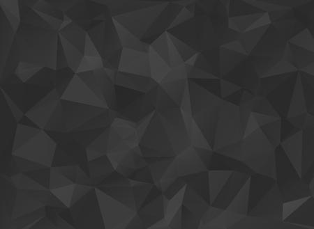 Ilustración de low poly black background - Imagen libre de derechos