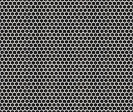 Holes Metal Plate - Seamless Pattern Texture Background