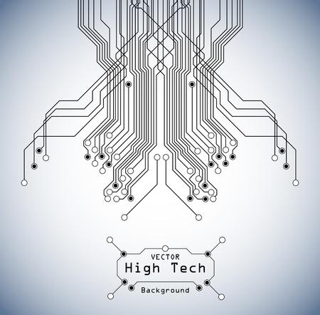 Photo pour circuit high tech  board background - image libre de droit