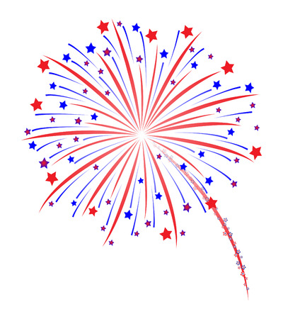 Photo for Fireworks vector illustration - Royalty Free Image