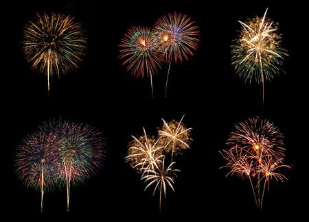 Photo pour Fireworks - image libre de droit