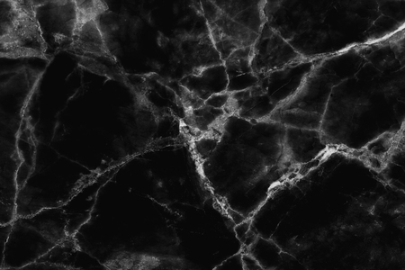 Foto de Abstract black marble texture in natural patterned, detailed structure of marble high resolution. - Imagen libre de derechos