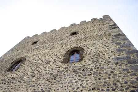 Foto de A very well kept historic building in the city of Motta, Sicily in Italy. - Imagen libre de derechos